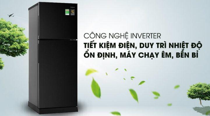 Tủ lạnh Aqua Inverter 186 lít AQR T219FA PB 4