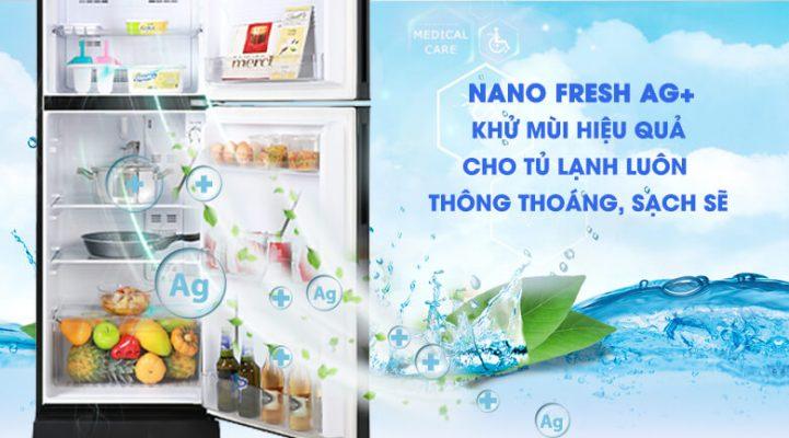 Tủ lạnh Aqua Inverter 186 lít AQR T219FA PB 5