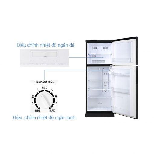 Tủ lạnh Aqua Inverter 186 lít AQR T219FA PB ava 8