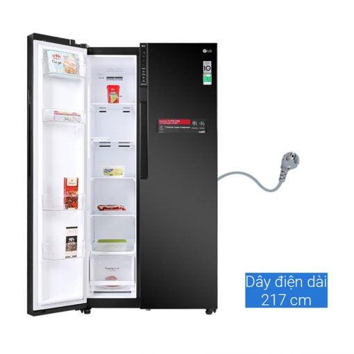 Tủ lạnh LG Inverter 613 lít GR B247WB ava 3