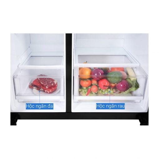 Tủ lạnh LG Inverter 613 lít GR B247WB ava 8
