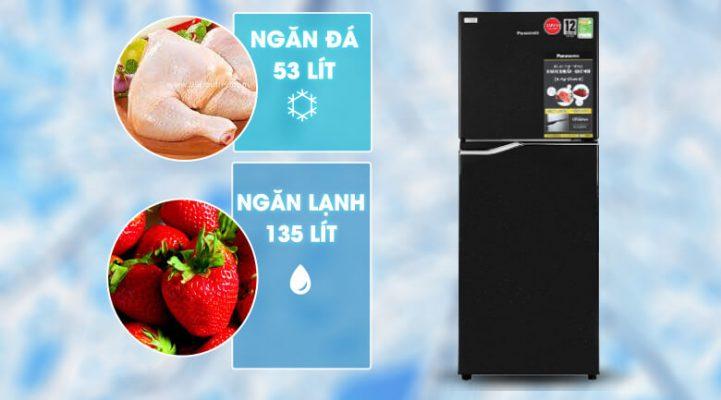 Tủ lạnh Panasonic Inverter 188 lít NR-BA229PKVN 6