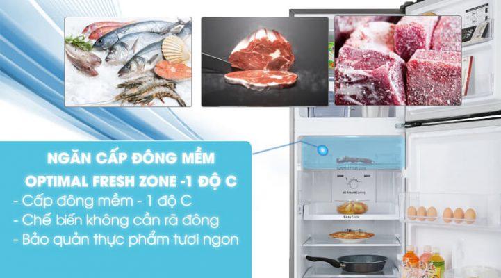 tủ lạnh Samsung Inverter 236 lít RT22M4032BY SV 2