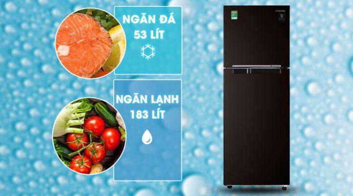 tủ lạnh Samsung Inverter 236 lít RT22M4032BY SV 7