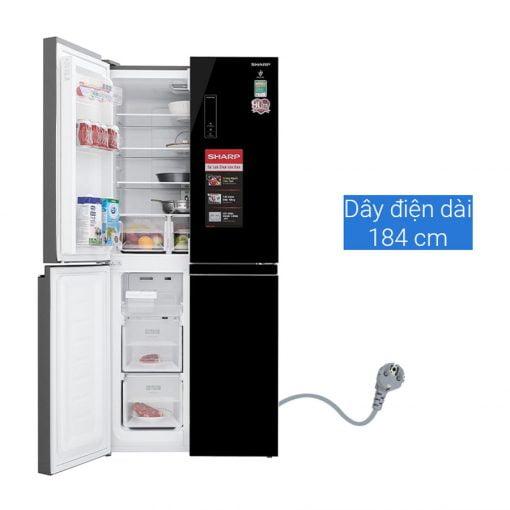 Tủ lạnh Sharp Inverter 401 lít SJ FXP480VG BK ava 3