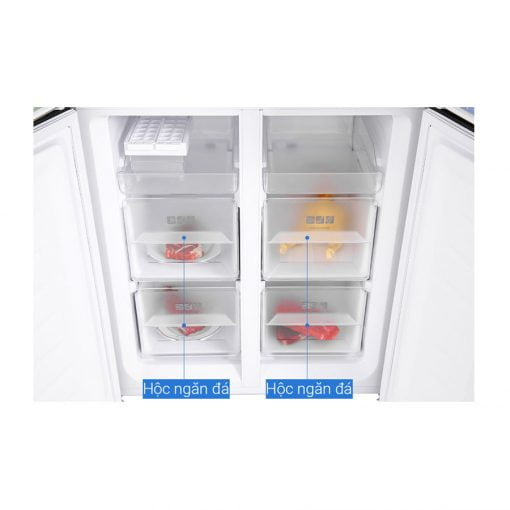 Tủ lạnh Sharp Inverter 401 lít SJ FXP480VG BK ava 7
