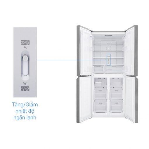 Tủ lạnh Sharp Inverter 401 lít SJ FXP480VG BK ava 9