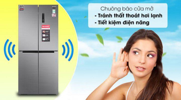 Tủ lạnh Sharp Inverter 401 lít SJ-FXP480V SL 11