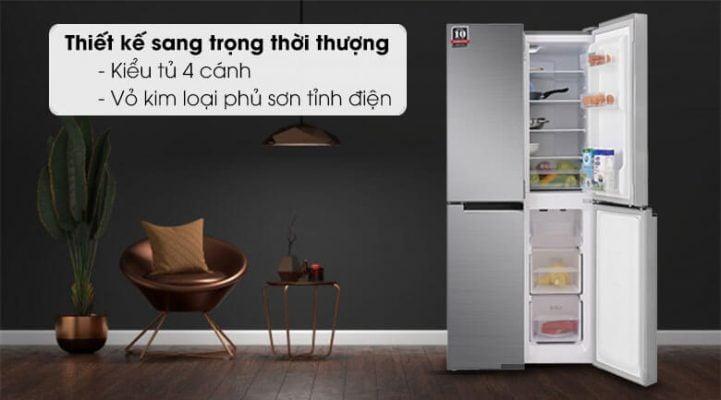 Tủ lạnh Sharp Inverter 401 lít SJ-FXP480V SL 6