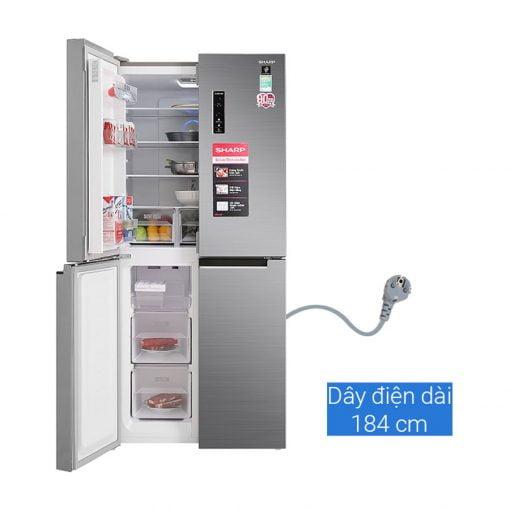 Tủ lạnh Sharp Inverter 401 lít SJ-FXP480V SL ava 3