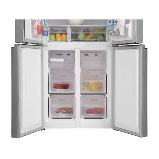 Tủ lạnh Sharp Inverter 401 lít SJ-FXP480V SL ava 6