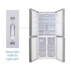 Tủ lạnh Sharp Inverter 401 lít SJ-FXP480V SL ava 9